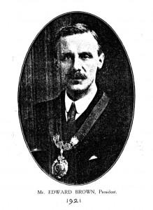 Mr Edward Brown, 1921